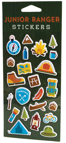 Junior Ranger Puffy Sticker Sheet