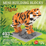 Mini Building Block Tiger
