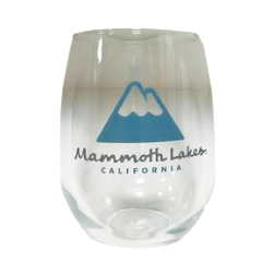 Town Of Mammoth Lakes Wine Glass