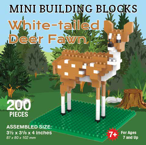 Mini Building Block White Tailed Fawn