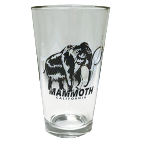 Mammoth Woolly Pint Glass