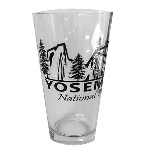 Yosemite Pint Glass