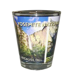 Yosemite Falls Shot Glass