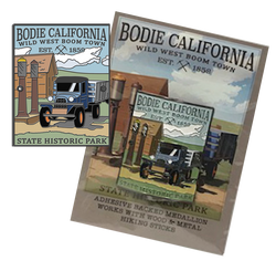 Bodie Truck Hiking Medallion