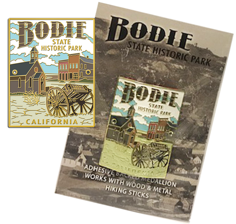 Bodie Wagon Hiking Medallion