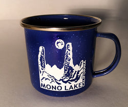Mono Lake Enamel Camp Mug