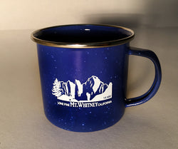 Mt. Whitney Enamel Camp Mug