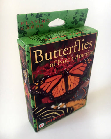 Butterflies Of North America Playing Cards