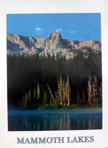 Mammoth Lakes Poster