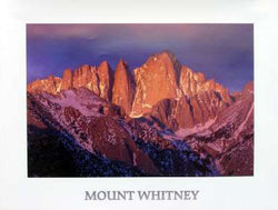 Mt. Whitney Peak Poster