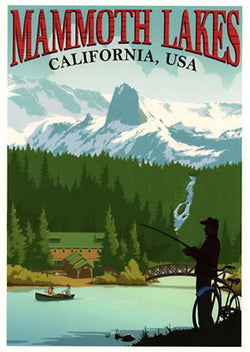 Mammoth Lakes Fisher Poster