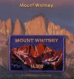 Mt. Whitney Elevation Patch
