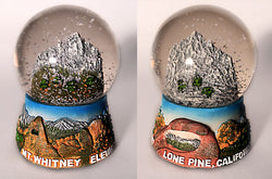 Mt. Whitney Snow Globe