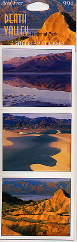Death Valley Sticker Sheet