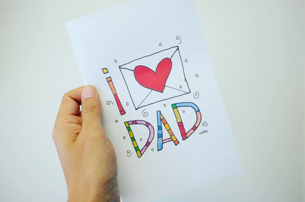 Download Your FREE Father's Day Card