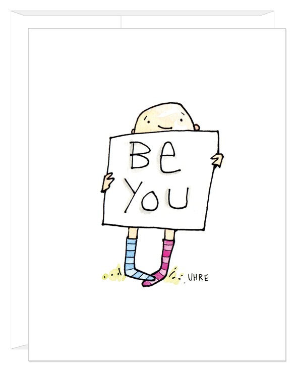 Be You card