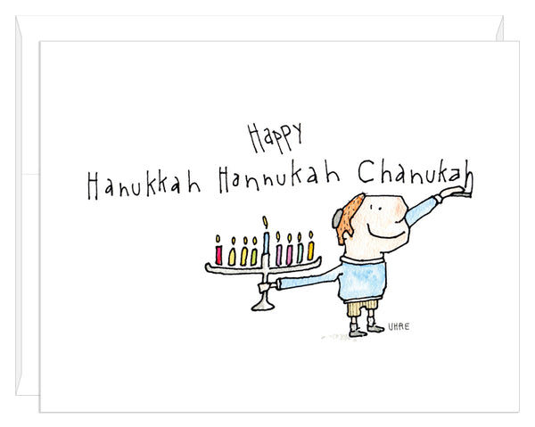 Happy Hanukkah Hannukah Chanukah
