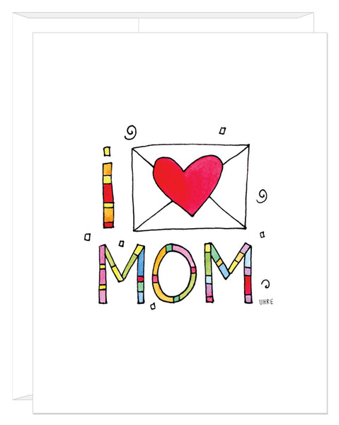 I Heart Mom Mother's Day Card
