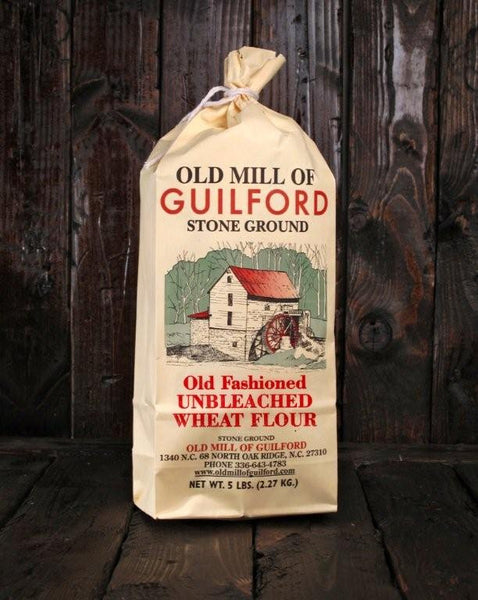Unbleached Wheat Flour (white all-purpose flour)