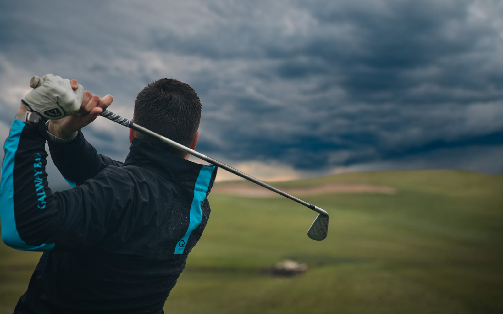Image result for golfing in the rain