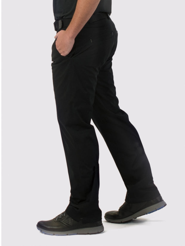 Black Unlined Pants - side