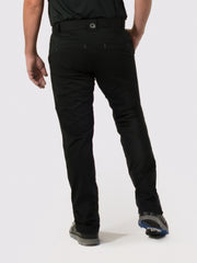Black Lined Pants - back