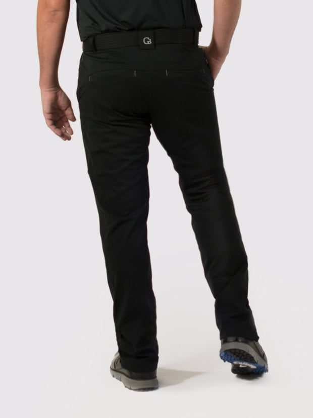 Black Unlined Pants - back