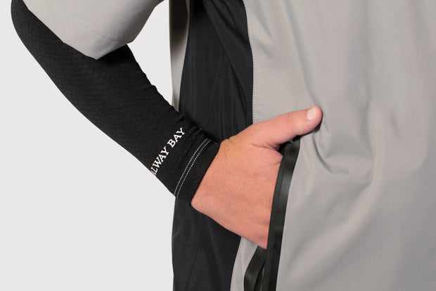 Thermal Water Resistant Sleeves - branding