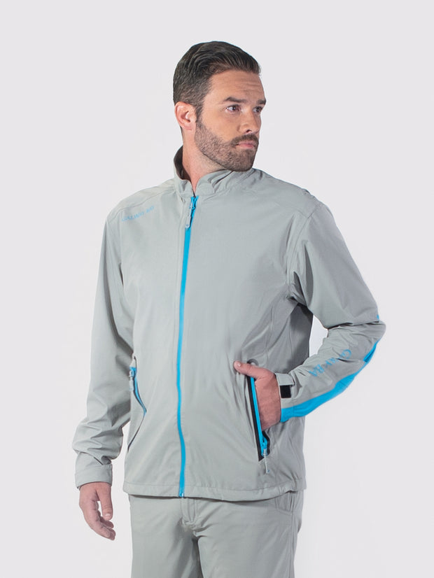 Gray/Blue All-Weather Jacket - front