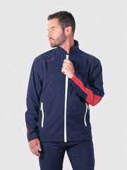 Navy All-Weather Jacket - front