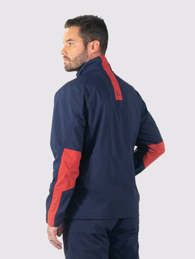 Navy All-Weather Jacket - back