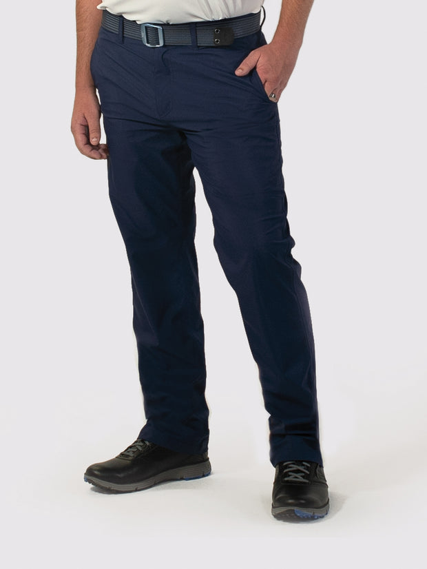 Navy unlined pants front