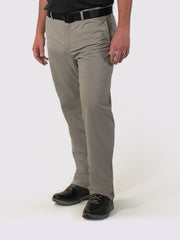 Gray Lined Pants - front