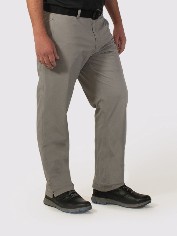 Gray Lined Pants - side