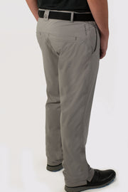 Gray Lined Pants - back