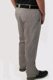 Gray Unlined Pants - back
