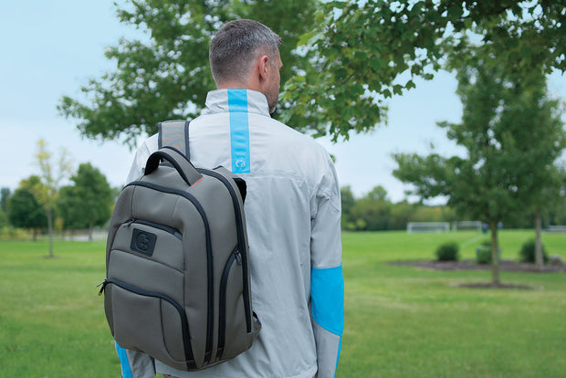 Backpack - on golf course