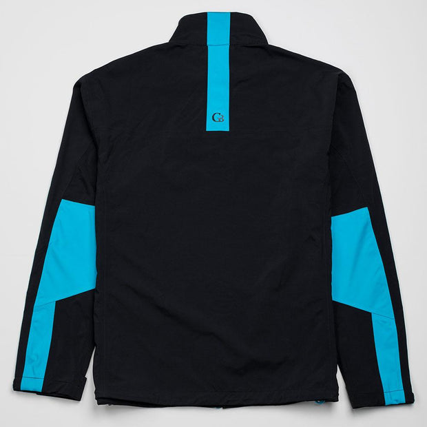 All-Weather Jacket | Black-Blue