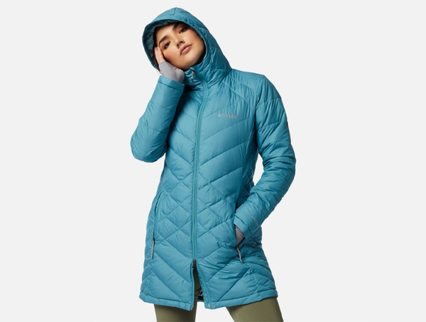 Columbia Women's Heavenly™ Long Hooded Jacket