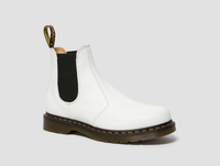 Dr. Martens 2976 Yellow Stitch Smooth Leather Chelsea Boots