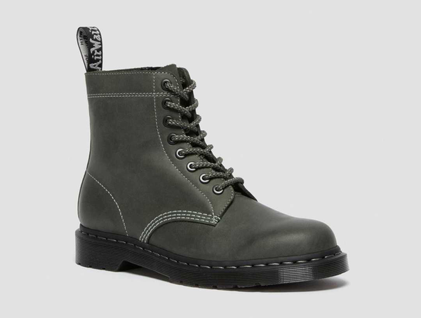 Dr. Martens 1460 Zip Leather Lace Up Boots