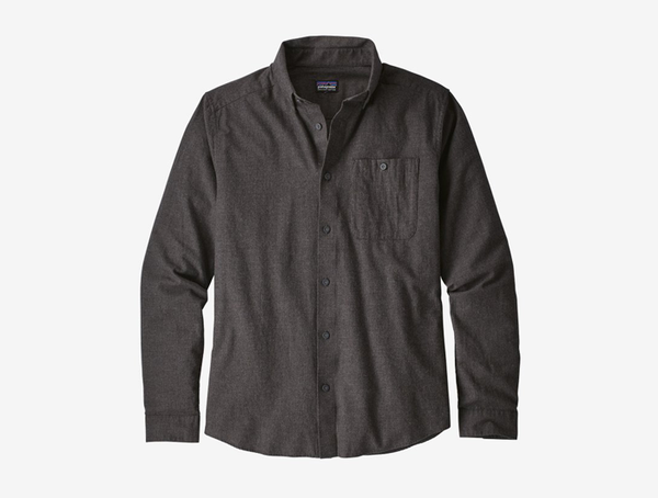 Patagonia Men's Long-Sleeved Vjosa River Pima Cotton Shirt