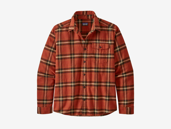Patagonia Men's Long-Sleeved Lightweight Fjord Flannel Shirt