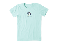 Life is Good Women's Vintage Crusher Tee - Hold Your Horses Jackie