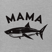 Life is Good Women's Crusher Vee - Mama Shark