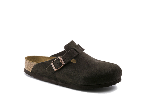 Birkenstock Boston Soft Footbed Suede