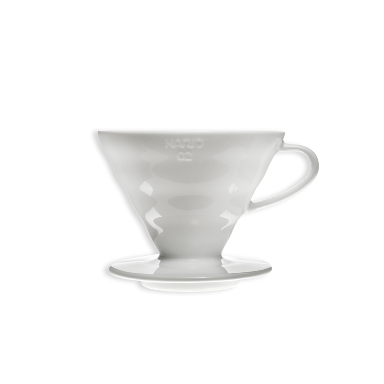 Hario V60 White Ceramic Dripper.