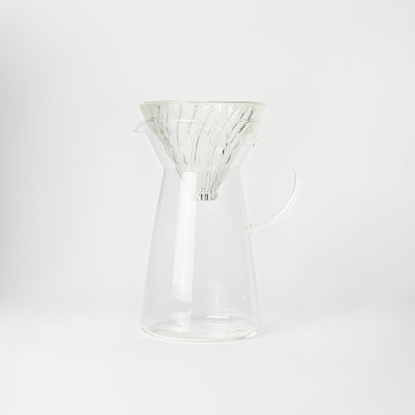 Hario V60 Hot & Iced Glass Coffee Maker