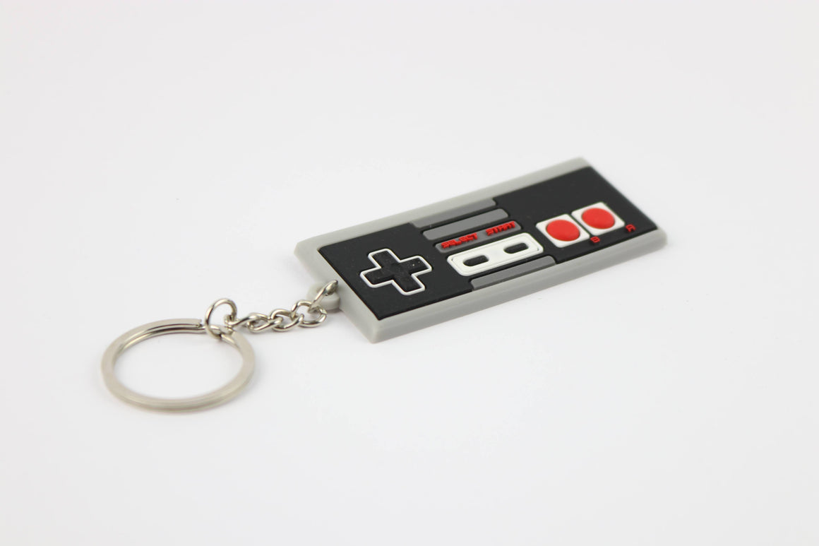 NES Control Pad Keychain - Gamer Hats