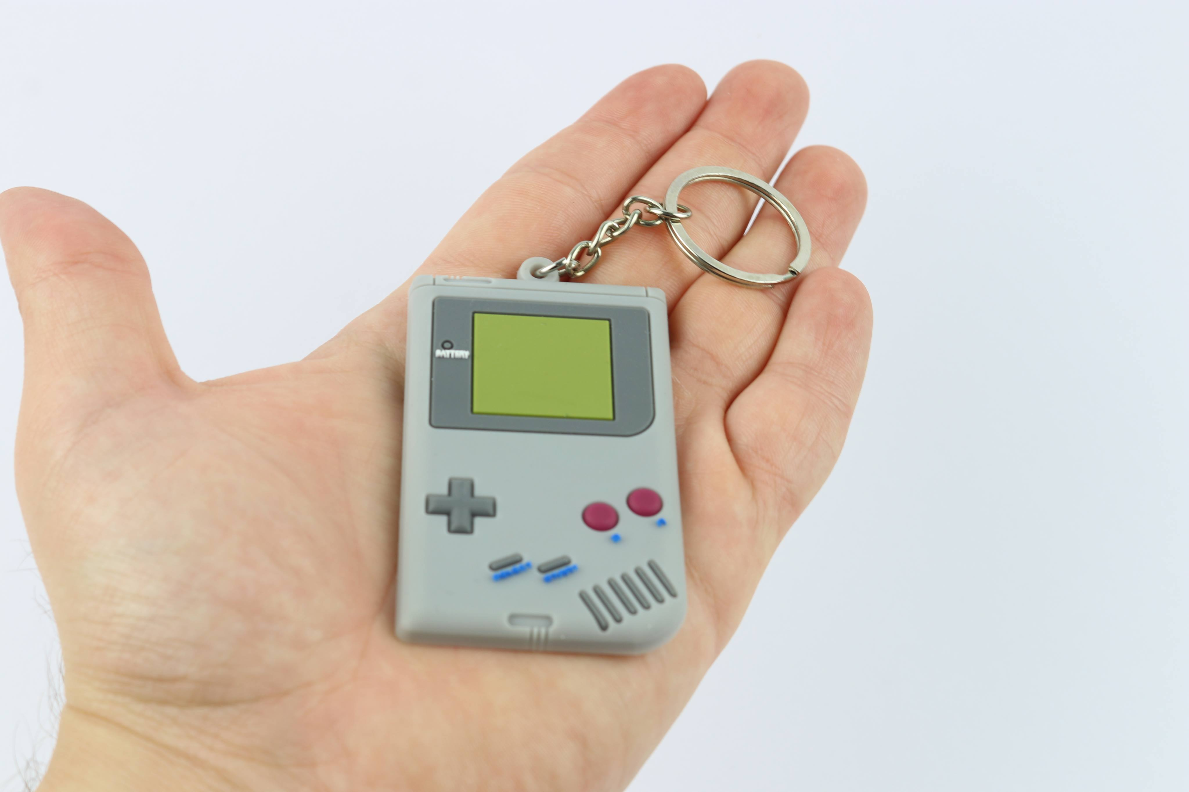 Gameboy Keychain - Gamer Hats